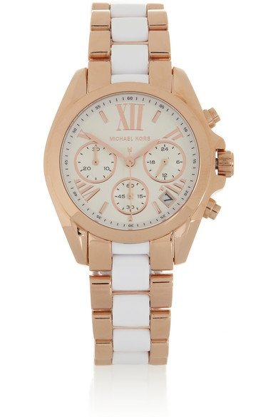 Michael kors Gold/white