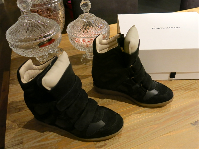 Black isabel marant