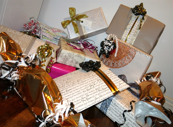 gift wrapping decoration, julklappsinslagning tips
