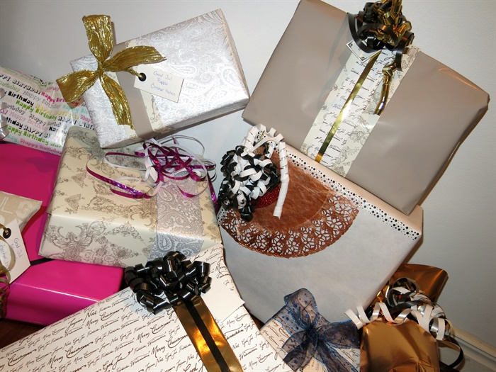 Gift wrapping tips, julklappsinslagning inspiration