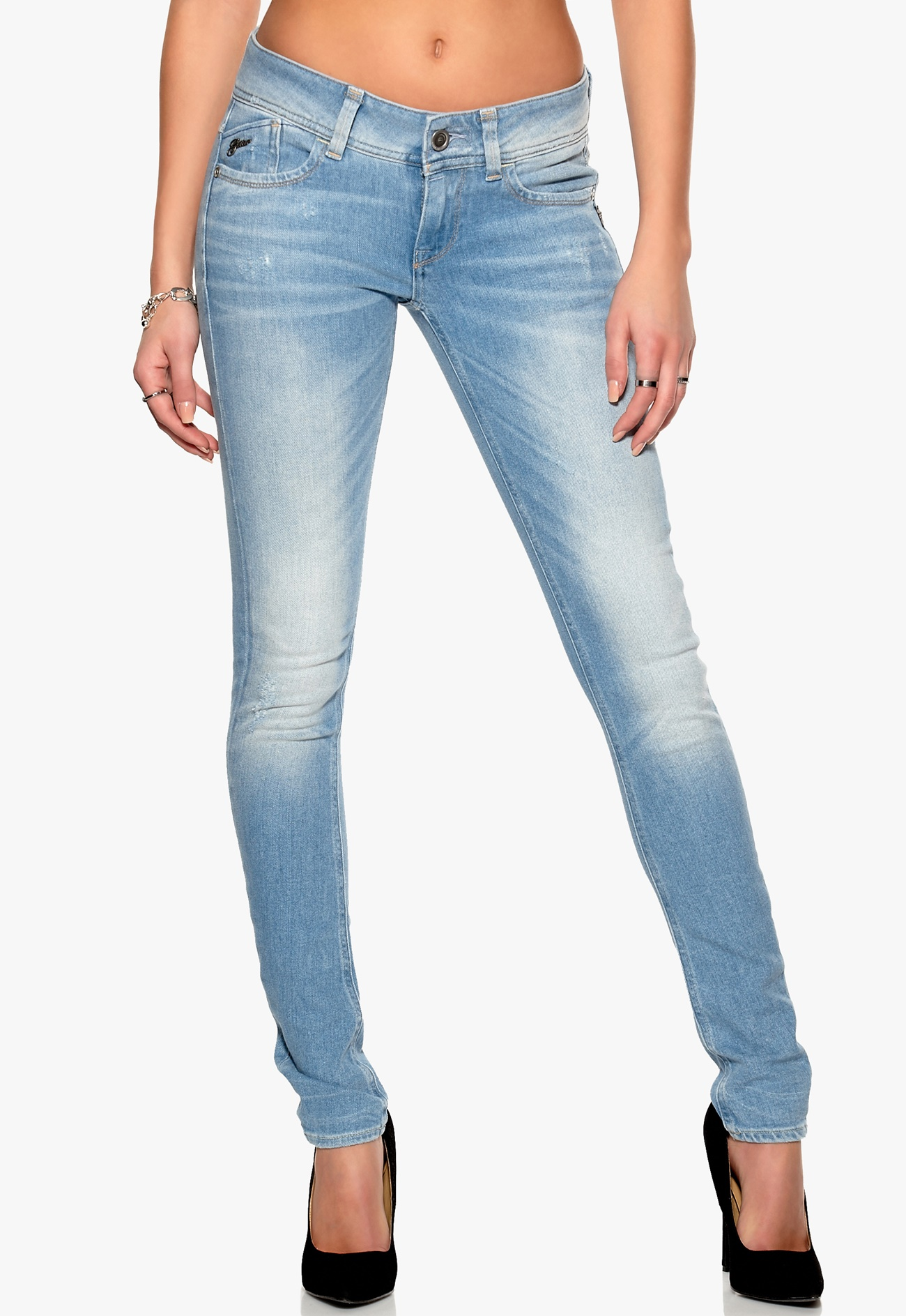 g star lynn skinny jeans 424 medium aged bubbleroom. Black Bedroom Furniture Sets. Home Design Ideas