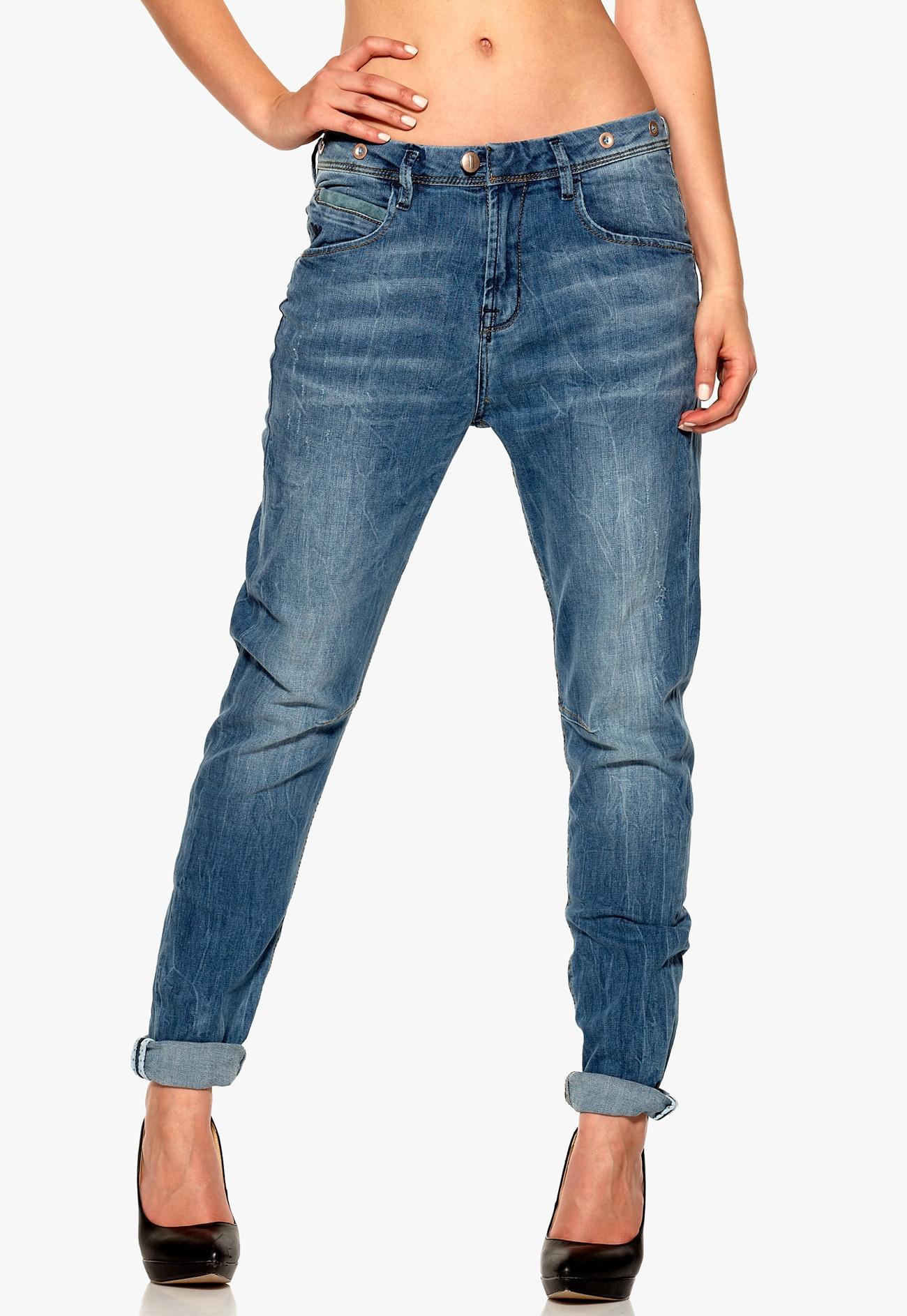 ichi boyfriend comma jeans 19015 comma bubbleroom
