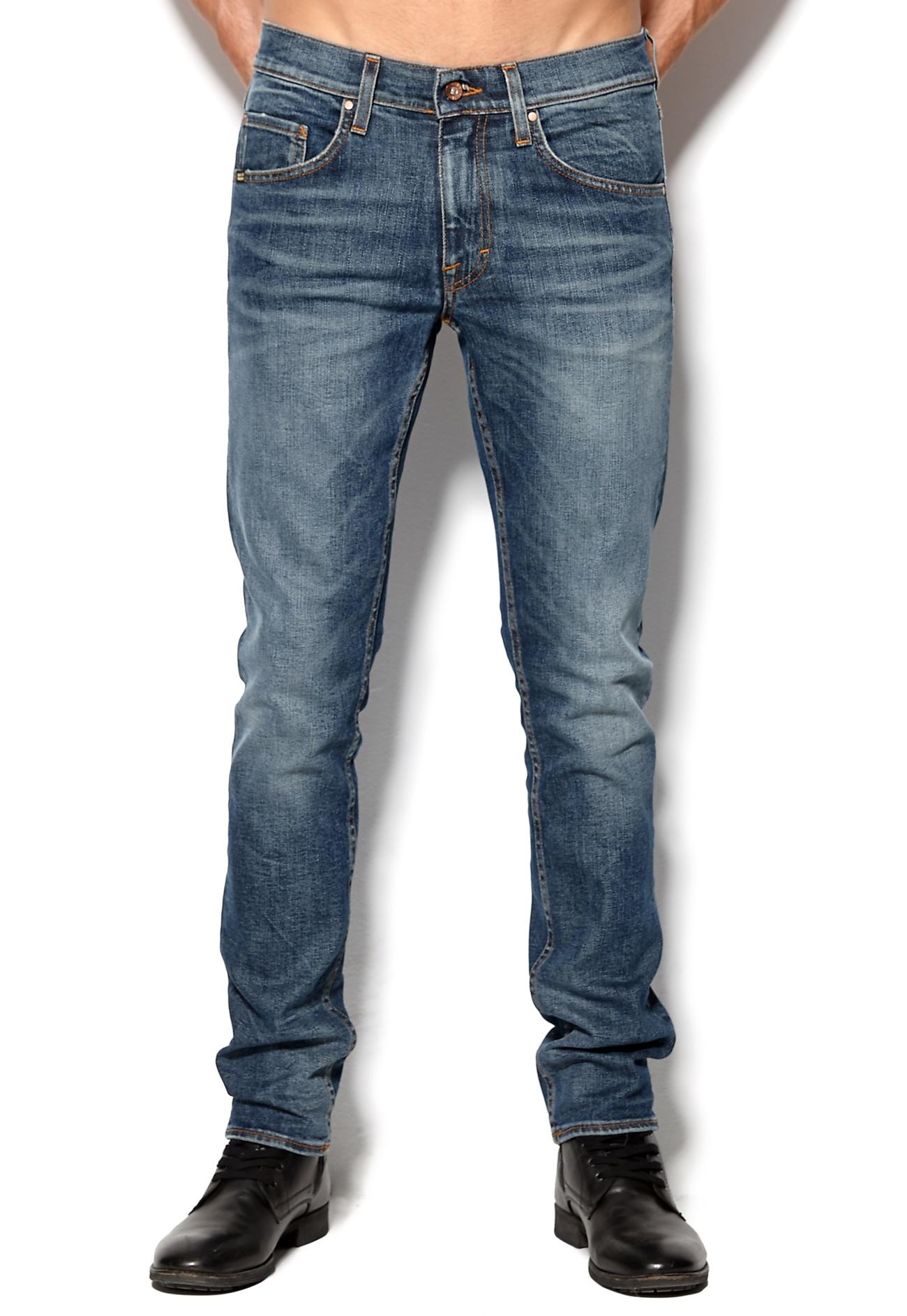 tiger of sweden sharp jeans 221 indigo bubbleroom. Black Bedroom Furniture Sets. Home Design Ideas