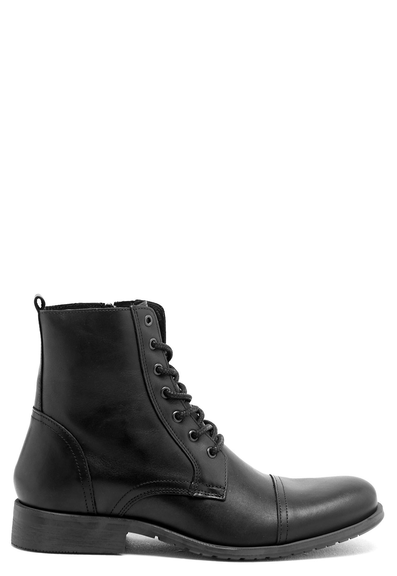 selected homme shi leather boots black bubbleroom