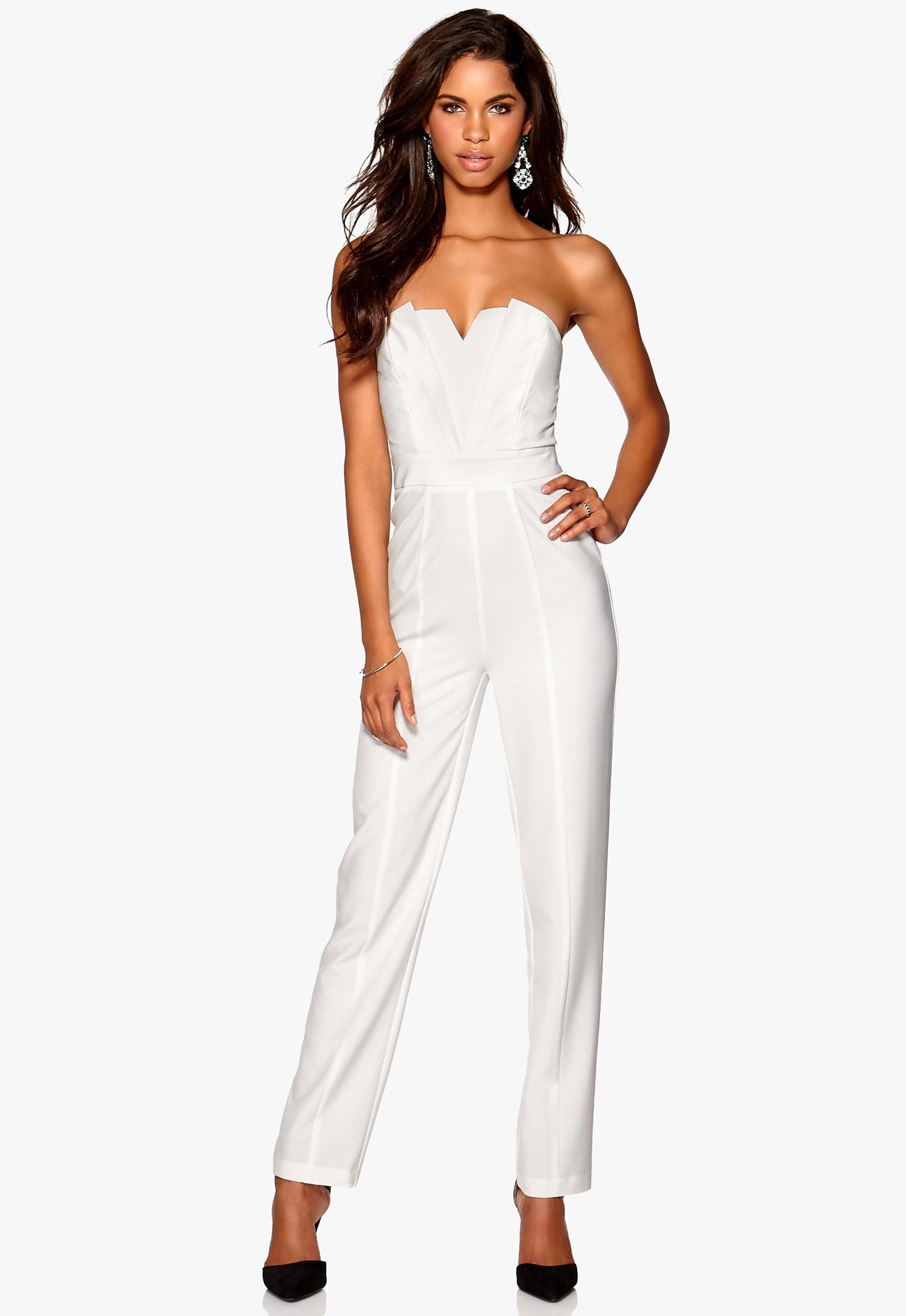 Make Way Langley Jumpsuit White