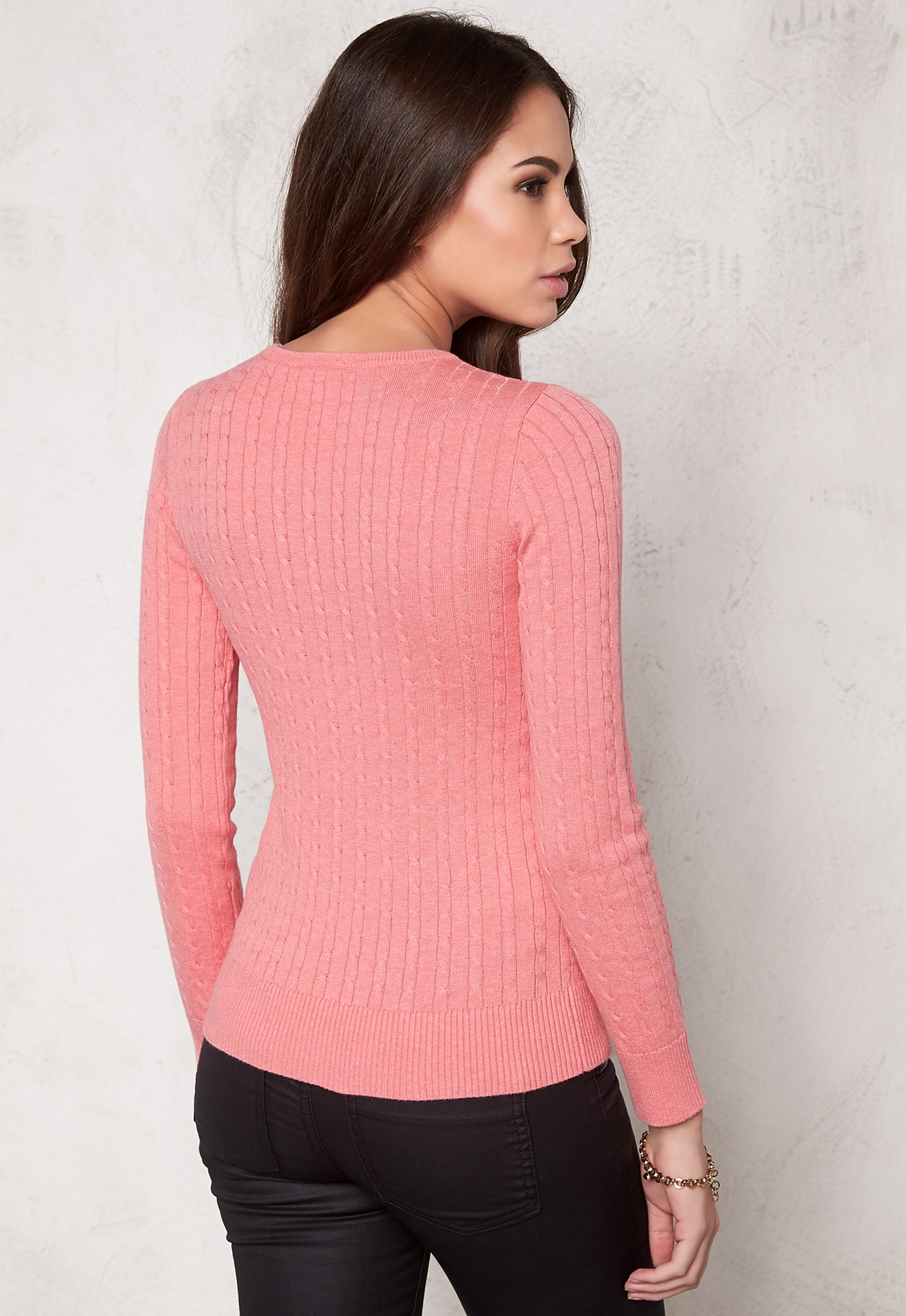Women'S Cardigan Peach 105