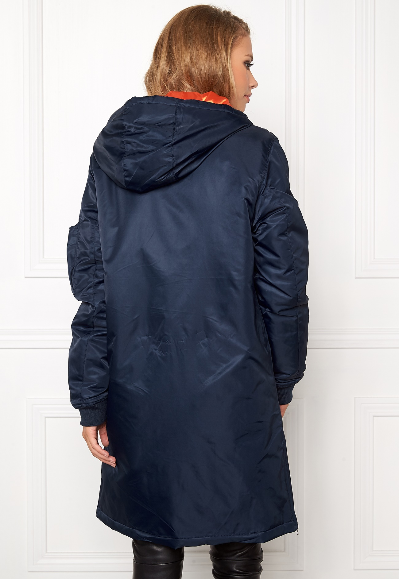 Mood Bomber Jackets: D.Brand Winter Edition Bomber Mood Indigo