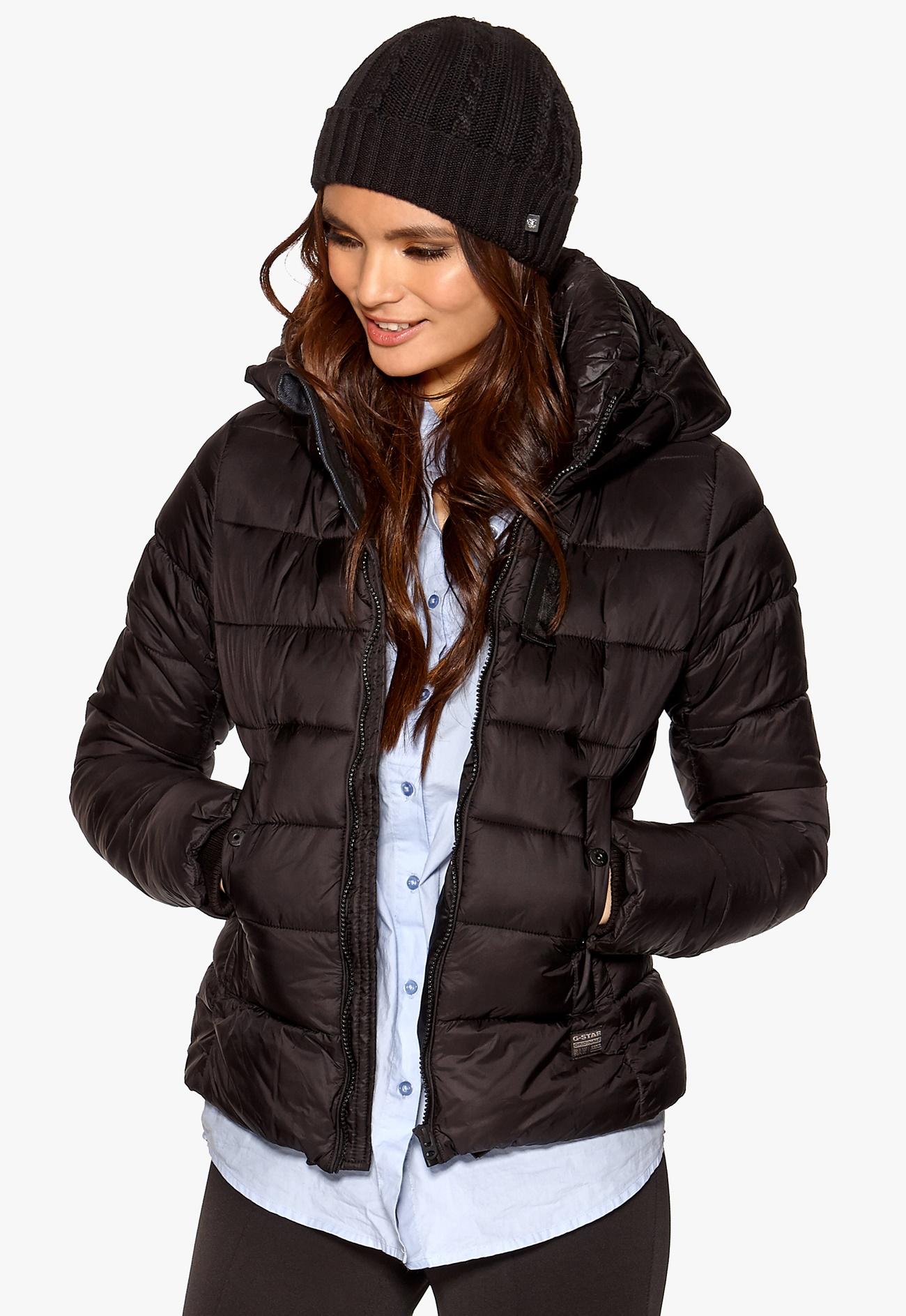 g star whistler slim jacket 990 black bubbleroom. Black Bedroom Furniture Sets. Home Design Ideas