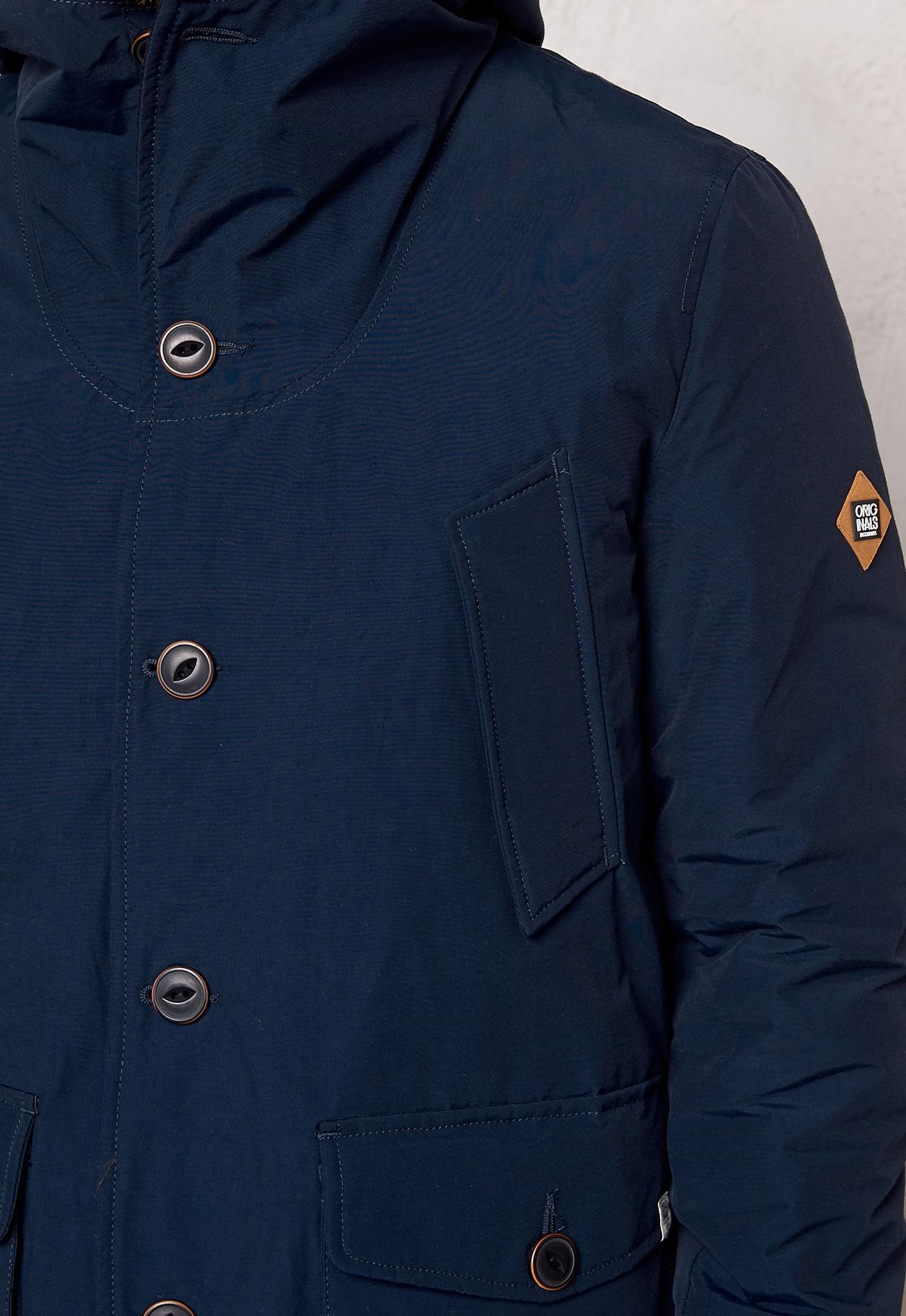 jack jones frame puffer jacket navy blazer bubbleroom. Black Bedroom Furniture Sets. Home Design Ideas