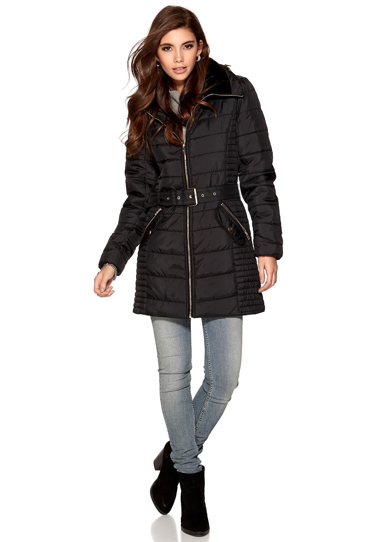 Black Nylon Coat 17