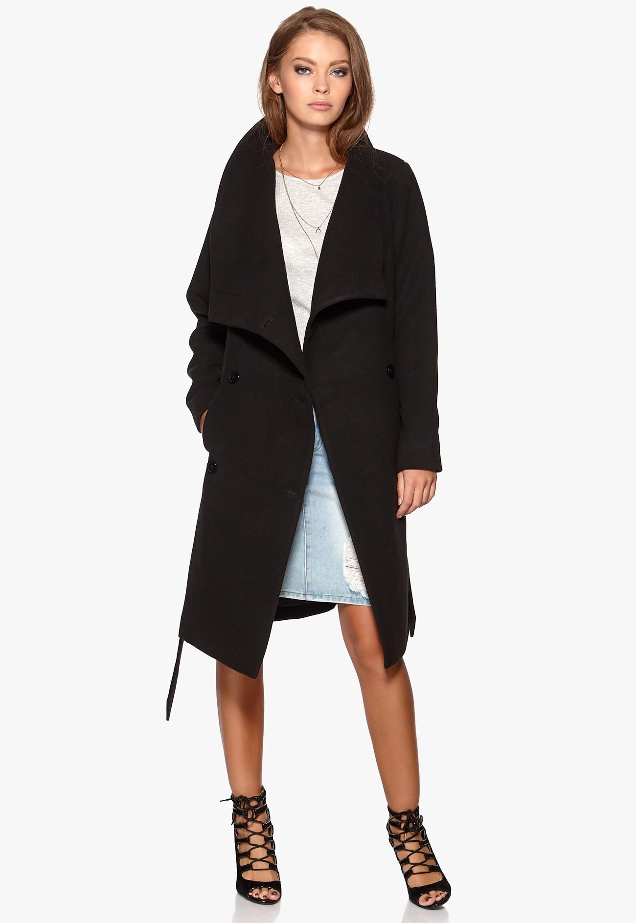 soaked in luxury blair coat black bubbleroom. Black Bedroom Furniture Sets. Home Design Ideas