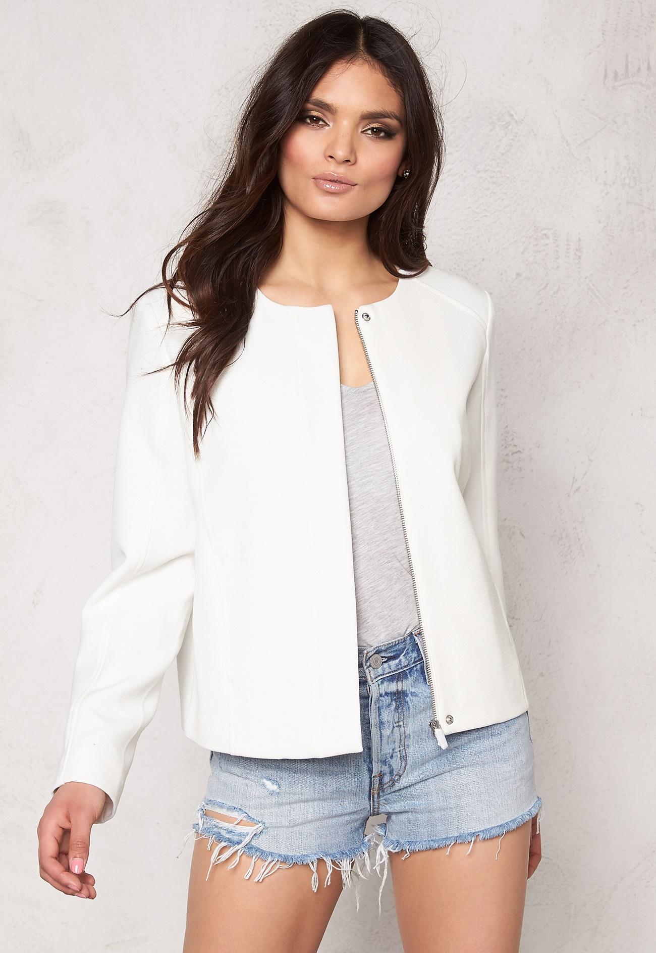 White Short Jacket - JacketIn
