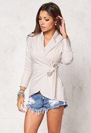 Chiara Forthi Jersey Wrap Cardigan