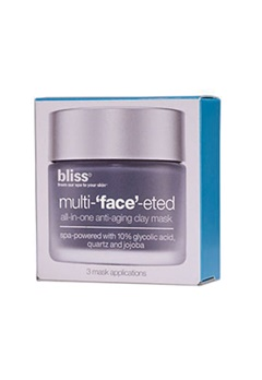 Bliss Bliss Multi Face Eted All In One Anti Aging Clay Mask 3-Pack  Bubbleroom.se