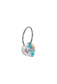 Blomdahl Blomdahl Caring Jewellery Natural Ear Ring Heart Rainbow (14mm)  Bubbleroom.se