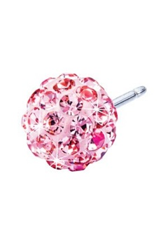 Blomdahl Blomdahl Caring Jewellery Natural Titanium Crystal Ball Light Rose (8mm)  Bubbleroom.se