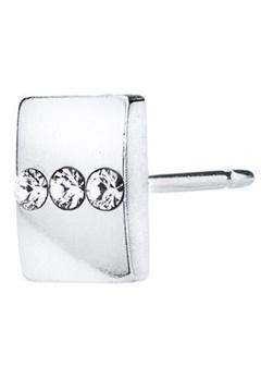 Blomdahl Blomdahl Caring Jewellery Silver Titanium Triple Crystal (8mm)  Bubbleroom.se