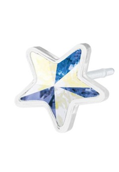 Blomdahl Blomdahl Caring Jewellery Star Rainbow (6mm)  Bubbleroom.se