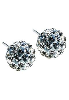 Blomdahl Blomdahl Crystal Ball Black Diamond (6Mm)  Bubbleroom.se