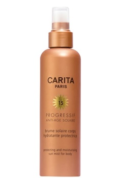 Carita Carita Protect And Moisturizing Sun Milk Spray For Body Spf 15 (200ml)  Bubbleroom.se