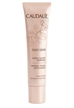 Caudalie Caudalie Teint Divin Minéral Tinted Moisturizer Medium To Dark Skin  Bubbleroom.se