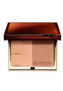 Clarins Clarins Bronzing Duo - 01 Light  Bubbleroom.se