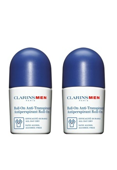 Clarins Clarins Men Duo Deo Roll-On (2X50ml)  Bubbleroom.se