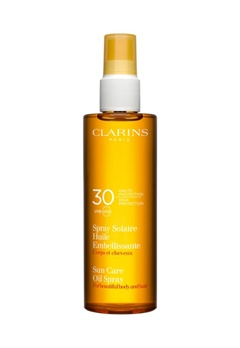 Clarins Clarins Sun Care Oil Spray Uvb30 (150 ml)  Bubbleroom.se