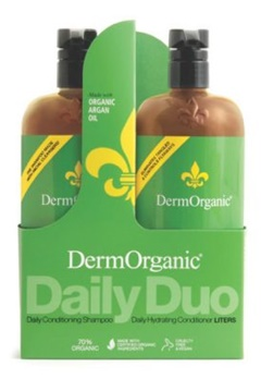 DermOrganic DermOrganic Hair Care Duo (2X1L)  Bubbleroom.se