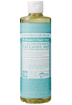 Dr. Bronner's Dr. Bronner's Liquid Soap Neutral-Mild 473 ml  Bubbleroom.se