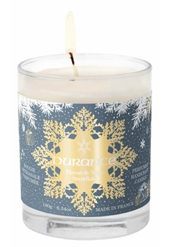Durance Durance Christmas Handcraft Candle Snowflake (180g)  Bubbleroom.se