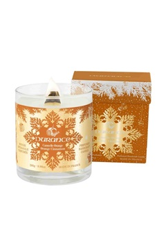 Durance Durance Christmas Prestige Candle Wood wick Cinnamon Orange (280g)  Bubbleroom.se