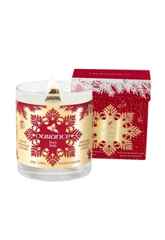 Durance Durance Christmas Prestige Candle Wood wick Holly (280g)  Bubbleroom.se