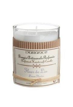 Durance Durance Doftljus Linen Flower  Bubbleroom.se
