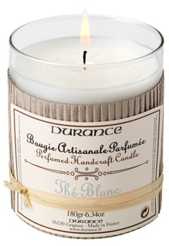 Durance Durance Doftljus White Tea  Bubbleroom.se