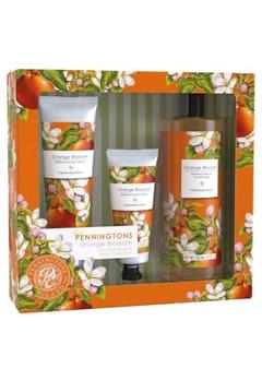 Durance Durance Penningtons Large Floral Set Orange Blossom  Bubbleroom.se