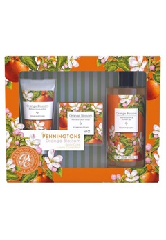 Durance Durance Penningtons Small Floral Set Orange Blossom  Bubbleroom.se
