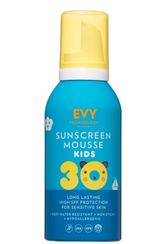 EVY EVY Sunscreen Mousse Kids SPF 30  Bubbleroom.se