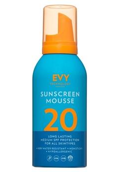 EVY EVY Sunscreen Mousse SPF 20  Bubbleroom.se