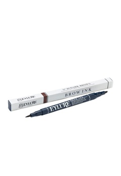 Eylure Eylure Defining & Shading Brow Ink - 10 Dark Brown  Bubbleroom.se