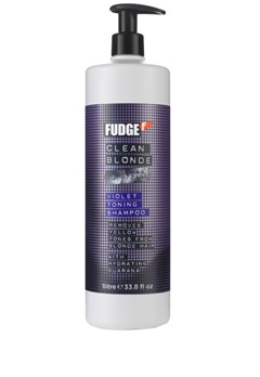 Fudge Fudge Clean Blonde Shampoo (1000ml)  Bubbleroom.se