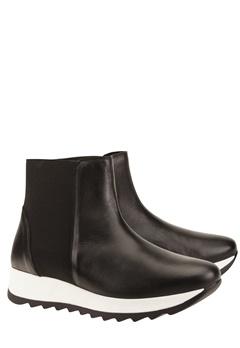 Have2have Boots i skinn, Barcelona Svart Bubbleroom.no