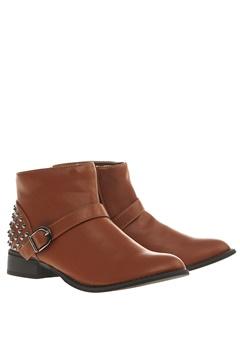 Have2have Boots med nagler, Eveline Brun Bubbleroom.no