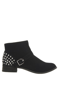 Have2have Boots med nagler, Eveline Svart Bubbleroom.no