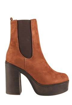 Have2have Boots med platåsula, Trina1 Rödbrun Bubbleroom.se