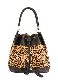 Have2have Bucket bag, Pau Leopard, svart Bubbleroom.se