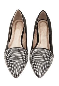 Have2have Glittrande skor, Stella8 Svart, silver Bubbleroom.se