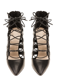 Have2have Högklackade skor med snörning, Remi1 Svart Bubbleroom.se