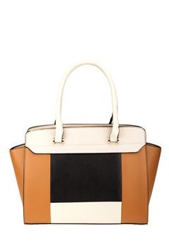 Have2have Handväska, Cassandra Brun, svart, beige Bubbleroom.se