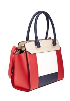 Have2have Handväska, Cassandra Röd, vit, beige, blå Bubbleroom.se